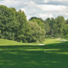 A view of a tee at Oak Hill Country Club.