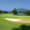 A view of a green at Playa Dorada Golf Course.