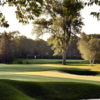 A sunny day view of a hole at Edina Country Club.