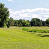 A view of a tee at Town Of Colonie Golf Course.