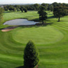 Aerial view from no. 17 at Oakridge Golf Club