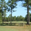 A sunny day view from Whispering Pines Golf Course.