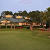 A view of the clubhouse at Marsh Landing Country Club