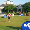 A view of the putting green at King & Bear GC @ WGV