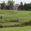 A view of a green at Georgetown Preparatory School Golf Course.