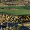 Green No. 2 at TPC Las Vegas golf course in Las Vegas.