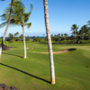 A view of a green at 10 Hole Course from Kuki'o.