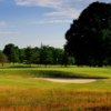 View of a green at Ed Oliver Golf Club.