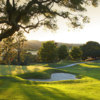 A view of a green at Palo Alto Hills Golf & Country Club.