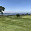 A view of a green at Howth Golf Club.