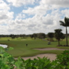 A sunny day view from Abacoa Golf Club.