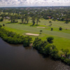 Aerial view of the 10th hole at Lake Worth Golf Club