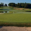 A view of the 18th green at Concord Country Club.
