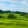 A view from a tee at Huntingdon Valley Country Club.