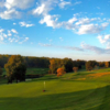 A fall day view from Huntingdon Valley Country Club.