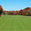 A view of tee #1 at George Wright Golf Course.
