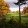 A fall day view from Fresh Pond Golf Course.