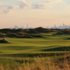 A view of the 13th fairway from Trump Golf Links at Ferry Point.