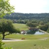 A sunny day view from a tee at River Place Country Club.