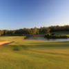 A view of fairway #18 at Gangarru Course from Riverside Oaks Golf Club.