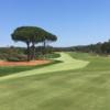A view of a hole at Vidauban Golf Club.