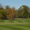 A view of a hole at Glen Oaks Golf Course.