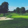 View of a green at Rawdon Golf & Lawn Tennis Club