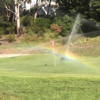 A view of a hole at Bardwell Valley Golf Club.