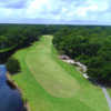 Aerial view from Shipyard Golf Club