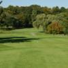 A view from a tee at Hilltop Golf Course.
