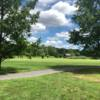 A view of a fairway at Darlington Golf Course.