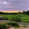 A sunset view from Bass Rocks Golf Club.
