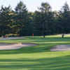 A view of the 9th green at Red at Ramblewood Country Club.