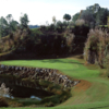 A view of the 17th hole at Brooksville Country Club.