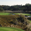 A view of green #13 at Brooksville Country Club.