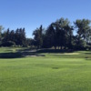 A view of a green at Earl Grey Golf Club.