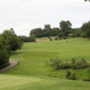 A view of a fairway at Moor Allerton Golf Club.