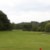 A view from a tee at Moor Allerton Golf Club.