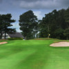 View of the 18th hole at Nelson Golf Club