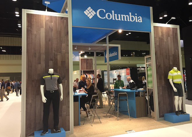 Columbia is known as a great brand of fishing apparel - they should be able to carve out a niche among comfort- and breathability-seeking golfers as well.