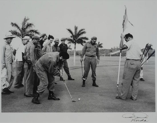 "Fidel Castro and Che Guevara once played golf to mock its perceived ""bourgeois"" and elitist nature. Now, Cuba has a softer attitude towards the game. (Alberto Korda)"