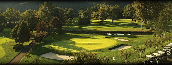 The Greenbrier's Old White TPC Course is a splendid but spendy experience. (The Greenbrier)