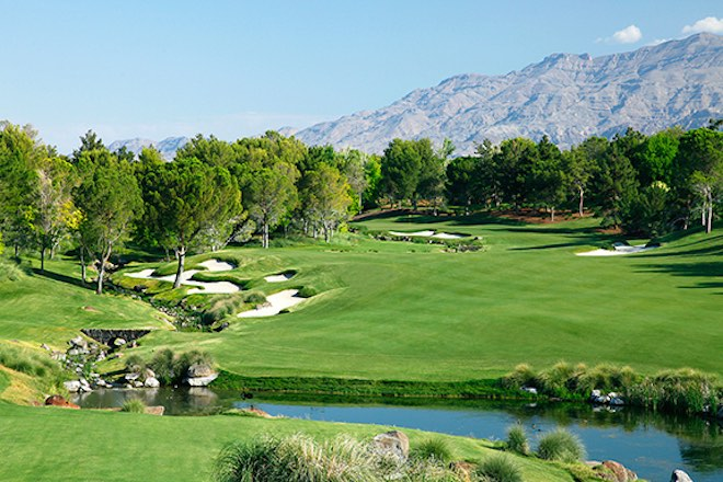 "Going by base green fees, Las Vegas high-roller havens Shadow Creek and Wynn are the most expensive ""public"" courses in the U.S. (Shadow Creek/MGM Resorts)"