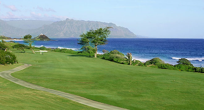 Is this a luxurious Hawaiian resort course? Nope, it's Kaneohe Klipper Golf Course, and it's one of the best military courses in the U.S. (MCCS Hawaii - Kaneohe Klipper Golf Course)