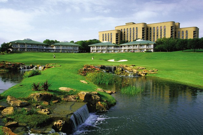 The redesigned 18th at TPC Four Seasons Las Colinas is more than fit for a PGA Tour venue. (Four Seasons)