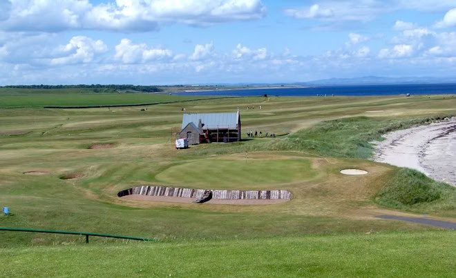 With views like this (the par-3 14th), who cares that Crail's Balcomie Links is a par-69 course? What more could you need?