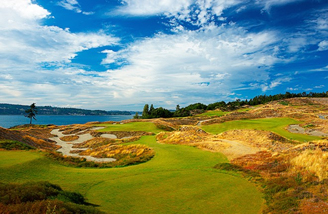 Chambers Bay is about to get its week in the spotlight, making its US Open debut. (Chambers Bay)
