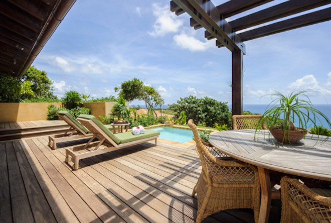 The private casitas at Royal Isabela are little havens of utter relaxation. They're hard to leave, which is why guests who want to relax amongst incomparable scenery love this boutique resort. (JoAnn Dost)