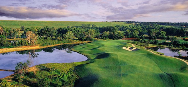 One of the most American courses you can find lies deep in the heart of Texas. (Cowboys Golf Club)