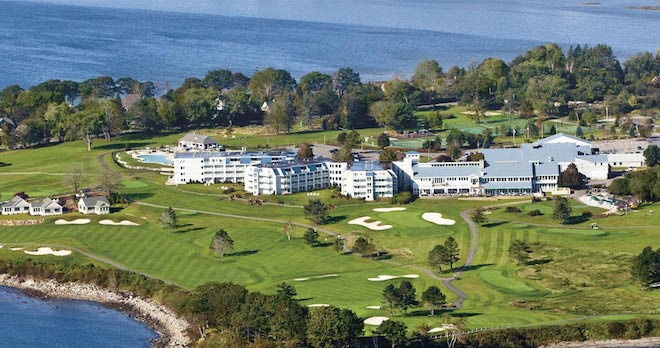 It seems strange that a resort whose golf course has a number of holes with Atlantic Ocean views could be little-known, but The Samoset is such a place. (The Samoset Resort)